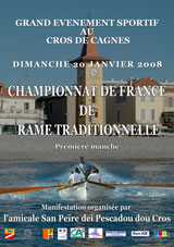 Championnat de France de rame traditionnelle